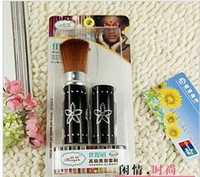 Wholesale makeup brush aluminum tube telescopic brush drill head brush tx40