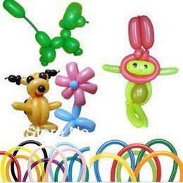 Wholesale 1000pcs magical strip balloons DIY wedding celebration balloons party decoration tx61