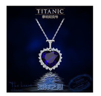 Wholesale Austria crystal Titanic necklace classic necklace jewelry sp116