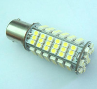Wholesale BA15S bulb Interior light DC V SMD LED warm white Pure White
