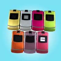 Wholesale V3 Refurbished RAZR GSM CELL PHONE Series with Mix colors cellphone