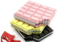 Wholesale Best Price Novel Gift CHOCOLATE Memo Pad Sticky Notebook Memo Pads Notepad