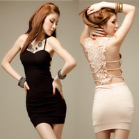 beige skirt suit - Sexy black condole belt skirt dress skirt cultivate one s morality dinner suit dress new w