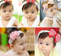 Wholesale 2013 Baby Headbands Flowers Girl Hair Ornaments Shining Headwear Kids s Hair Accessories