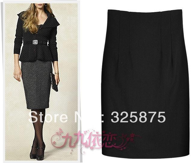 Cheap Free Shipping 2013 Winter Clothes New Woolen Skirt Hip OL Career