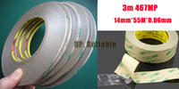 Wholesale x mm M MP MP two sided tape for Relatively Smooth Surfaces