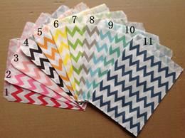 "5""*7"" 600pcs Wedding Chevron Dot Stripe Favor Bags Candy Paper Goods Bag kraft bags (25pcs opp bag)"