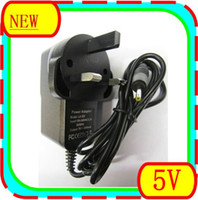 Wholesale 100PCS V A DC mm UK Plug Converter Charger Power Supply Adapter for Tablet PC JBD