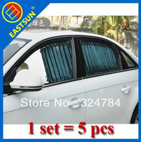 Blinds Front Windshield Shades  EASTSUN Special Blinds AUTO Car Curtain Shutters Sunshade Luxury Anti-Ultraviolet Car Sunshade curta