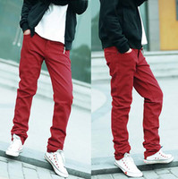 Wholesale 2013 Slim Stylish Skinny Jeans For Men Pencil Denim Jeans Color Size ss13041