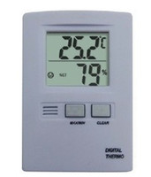 Wholesale hot sales New Digital LCD Display Temperature Humidity Thermometer and Hygrometer