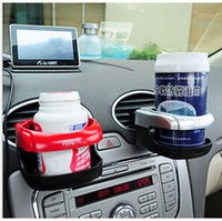 Wholesale Car Outlet Drink Cup Holder Car Bottle Holder Beverage Cup Glove Clip Auto Supplies Mix Color