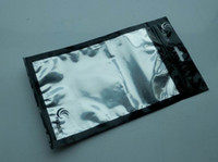 Wholesale Black OPP Retail Package Pouch Bag for Mobile Phone Accessories Cases Free DHL Shipping