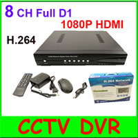 Wholesale 8CH H Full D1 real time recording P HDMI Standalone network CCTV DVR support IE Viewing