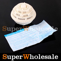Wholesale Pure White New Laundry Ball Anion Molecules Cleaning Magic Wash Washing