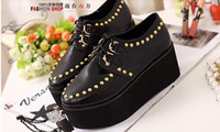 Wholesale women s shoes with rivet on the Heels shoes Womens Shoes good Quality Fashionable Comfortable