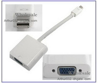 Cable displayport - Mini Displayport to VGA Cable Adapter for Apple Macbook iPad Mini DP Male to VGA with Retail Package