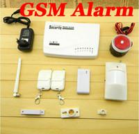 Wholesale Wireless GSM Home Security Alarm System PIR Door Sensor