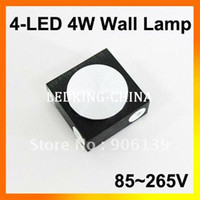 Wholesale 4W LED Decorative Colorful Light Wall Lamp