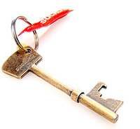 Wholesale Lowest price Bottle Opener Key Ring Key Bottle Opener keyChain Raffish key chain Amusing