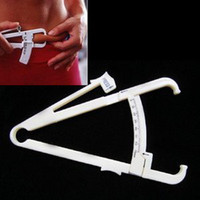 Wholesale New Personal Measure Fat Loss Body Tester Caliper Fitness Clip Keep Slim