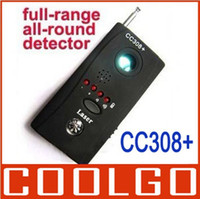 bug detector - CC308 Full frequency Multi Detector Wireline Wireless Camera BUG detector with Compass Function