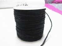 Wholesale DIY yards BLACK COLOR Jute Twine mm Decorative Handmade Accessory Hemp Rope