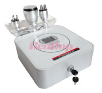 Wholesale 3 in Desktop Ultrasonic Liposuction Cavitation RF Tripolar Face beauty slimming machine