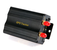 Wholesale Vehicle Car GPS Tracker TK103A with GSM Alarm SD Card Slot Anti theft Real time tracking