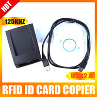 Wholesale 125KHz RFID ID Card Reader amp Writer Copier Programmer