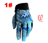 Wholesale Racing glove motorcycle gloves Off road vehicles gloves good protection hot selling