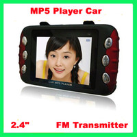 "MP5 Player Ca   4GB MP3 Player Car Mp3 Mp4 Mp5 PMP Digital Player 2.4"" HD TFT Screen Remote Control FM Transmitter"