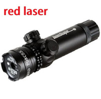 Wholesale 5mw Tactical Hunting Scopes red Laser Sight Scopes Rifle For Pistol With mm Rifle Scope Mounts