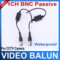 Wholesale twisted pair single channel passive water proof weatherproof design video balun transceiver