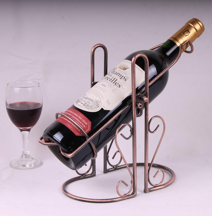 2017 Swing Wine Racks Holder Metal Bottle Rack Iron Wine