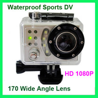 Wholesale Full HD P SDV500 Waterproof Car Bike Sports Helmet Action Dash Camera Cam DVR gopro Camera