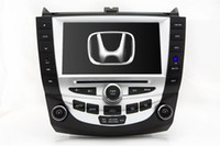 Wholesale 8 quot Auto Radio Car DVD Player GPS Nav for Honda Accord w Bluetooth TV SWC USB Stereo Audio