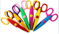 Wholesale 6 design option Decorative Wave lace Edge Craft Scissors DIY for Scrapbook Handmade Ki