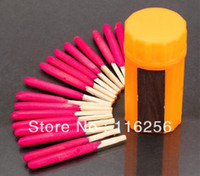 Wholesale 20bottles bottle outdoor Windproof waterproof matches survival selfsave camping match a