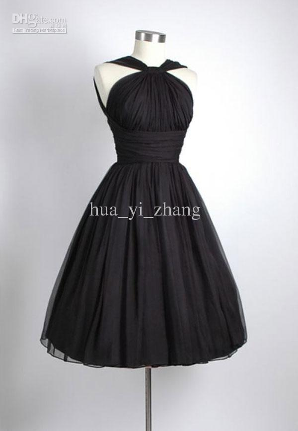 Black Short Wedding Dresses - Ocodea.com