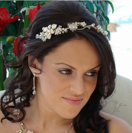 Free Shipping In stock Handmade Crystal Floral Silver Plated Couture Wedding Hair Tiara Crystal Bridal Headband