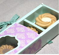 Wholesale 30pcs set cupcake box cookie gift box biscuit candy chocolate macaron gift packaging