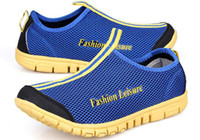 Wholesale 2013 New Arrival Men Mesh Fabrice Breathable Sport Shoes Brand Fashion Casual Sneakers