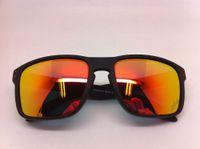 Wholesale Brand Mens Womens Sports Sunglasses Designer Glasses Holbrook Transparency Gold Lens F0