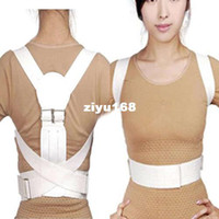 Wholesale M L XL Magnetic Back Shoulder Corrector Posture Orthopedic Support Belt Brace