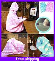 nonwoven fabric - Carton Animal Cloak Little Baby blanket Wanderer Soft Plush Cloak animal Wrap soft Blanket shawl