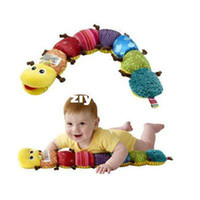 Wholesale Popular Colorful Musical Inchworm Soft Lovely Developmental Baby Toy BT