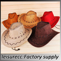 Wholesale Sunscreen fashion cowboy hat outdoor climbing cap