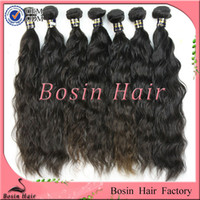 Unprocessed 100% human virgin remy natural wave top Indian h...
