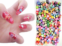 Wholesale Multi series option canes polymer clay nail art Cutted Manicure decorations care beauty make up